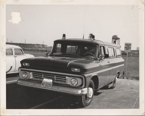 Willingboro Emergency Squad Ambulance  approx 1962